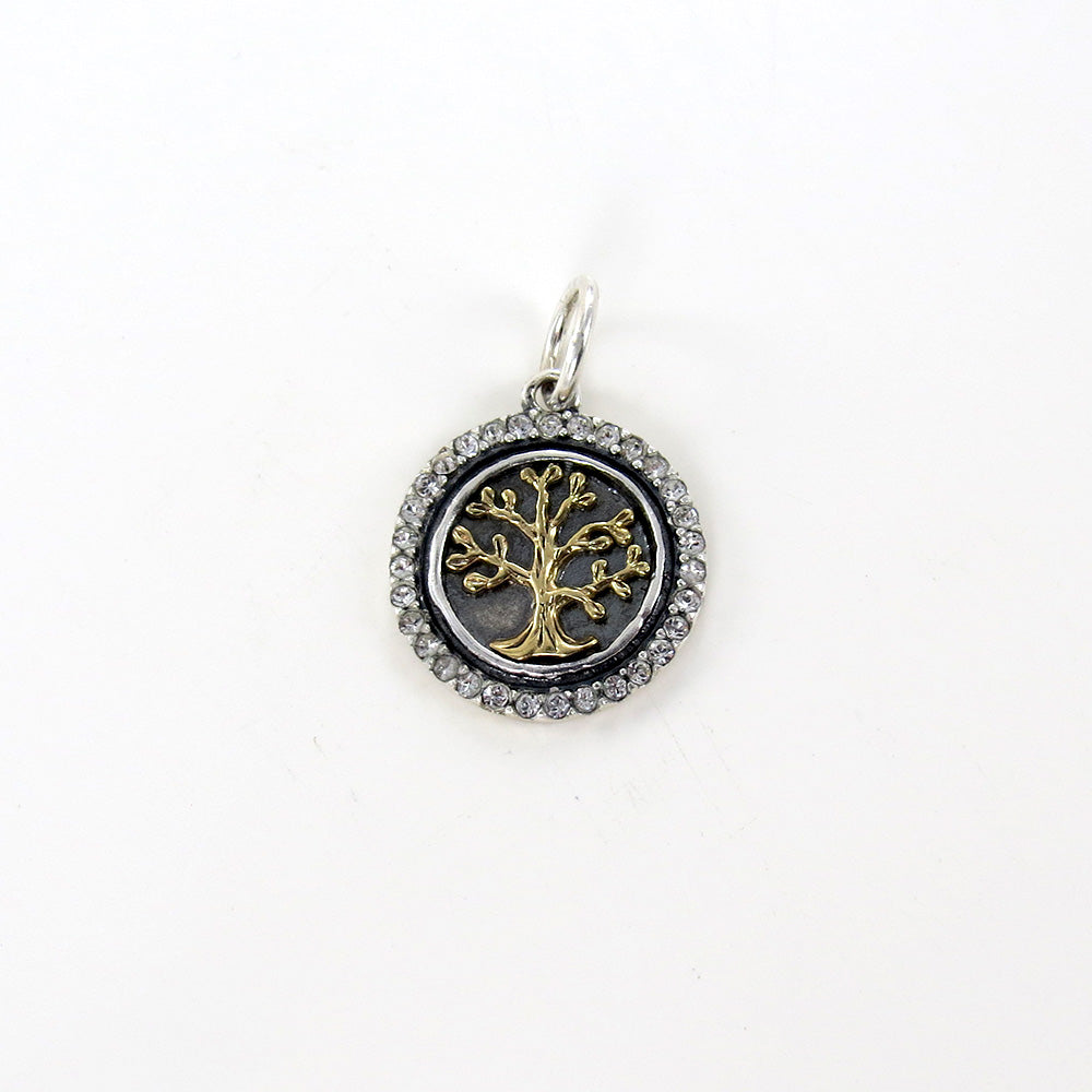 TREE OF LIFE HEART`S CONTENT CHARM