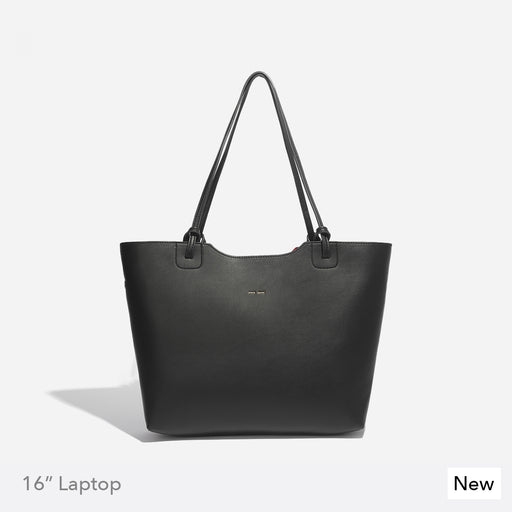 HEATHER TOTE - BLACK