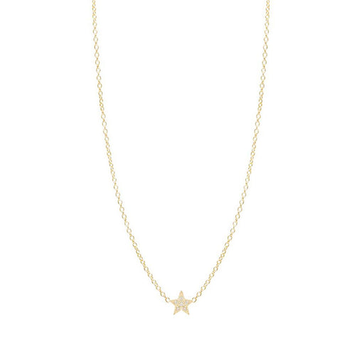 ITTY BITTY PAVE STAR NECKLACE
