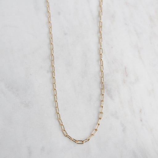 "14k Yellow Gold Link Chain ~ 18"" 2.6mm"