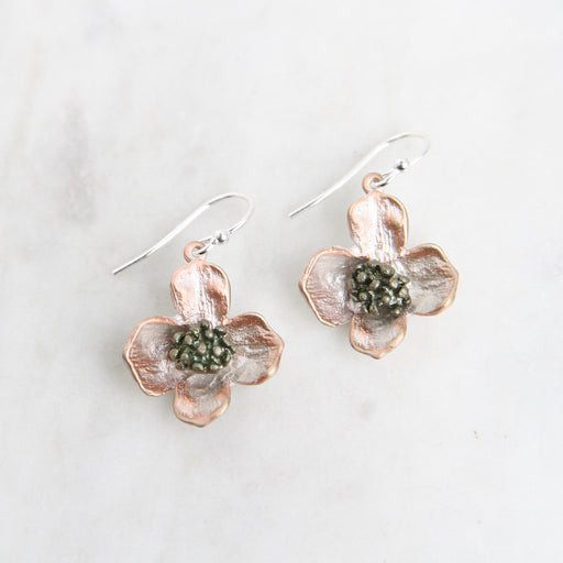 Dogwood Drop Earring