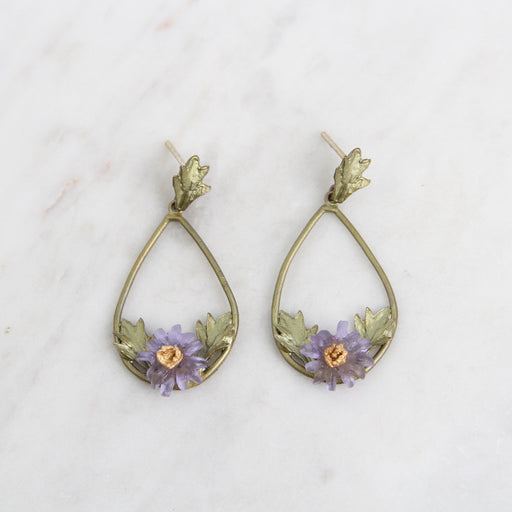 Aster Oval Post Earring