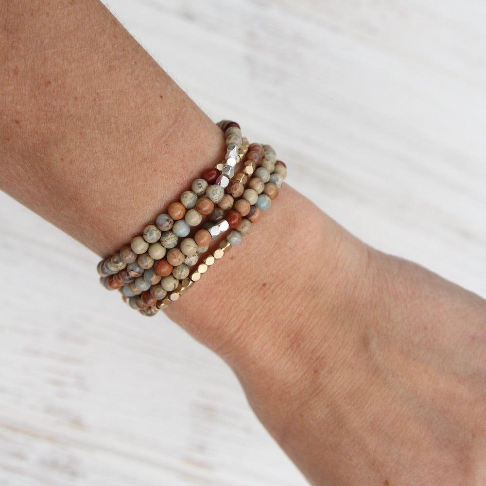 Scout Aqua Terra Wrap Bracelet & Necklace