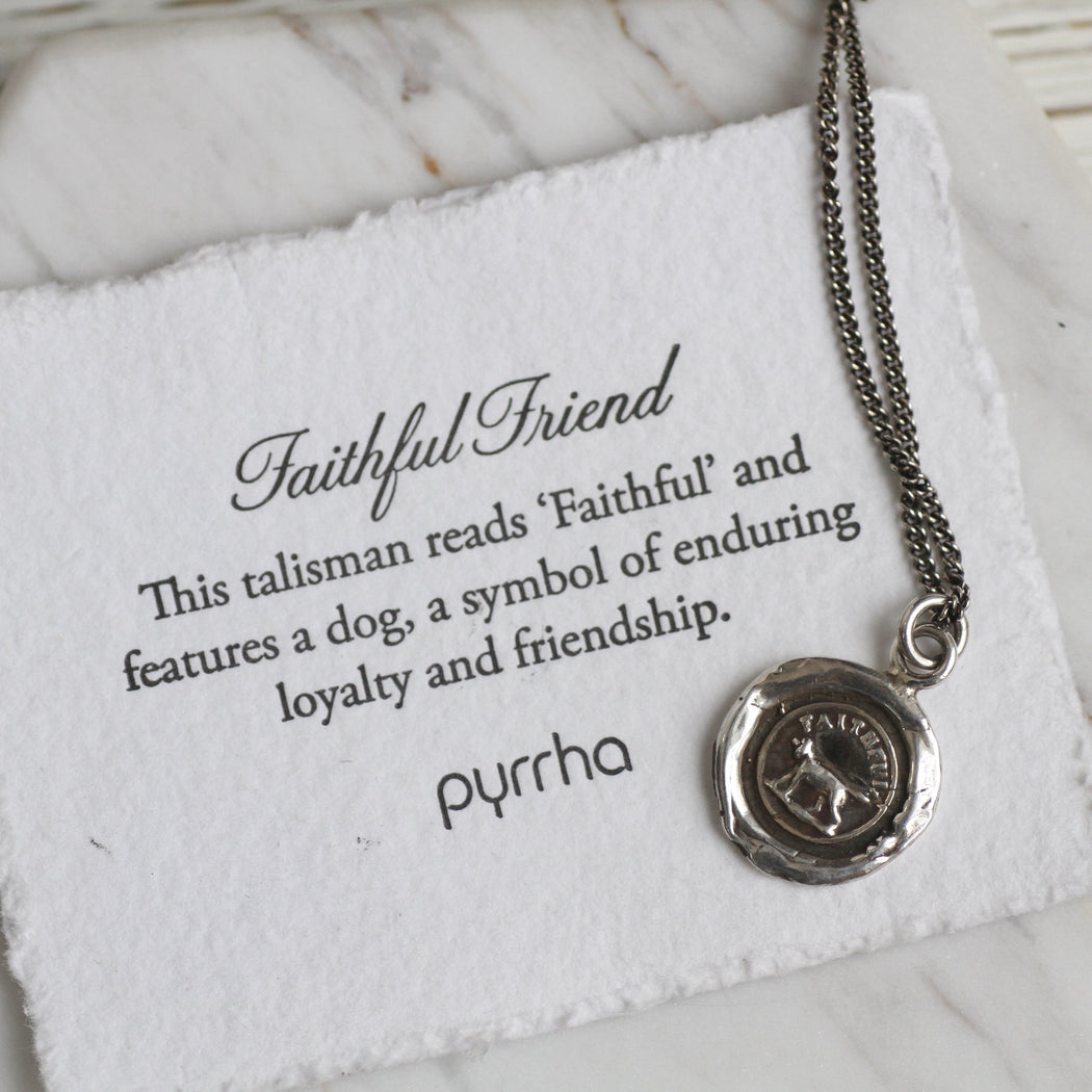 Faithful Friend Talisman Necklace