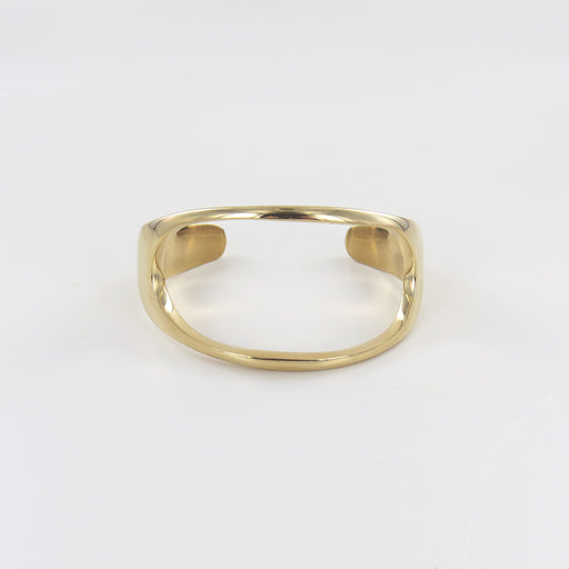 OPEN OVAL STATEMENT CUFF