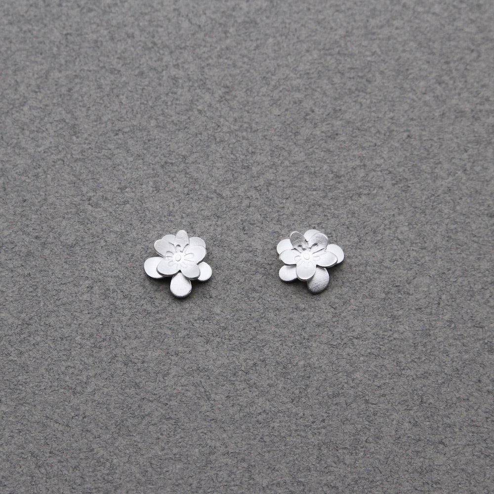 Sakura 3D Post Earring