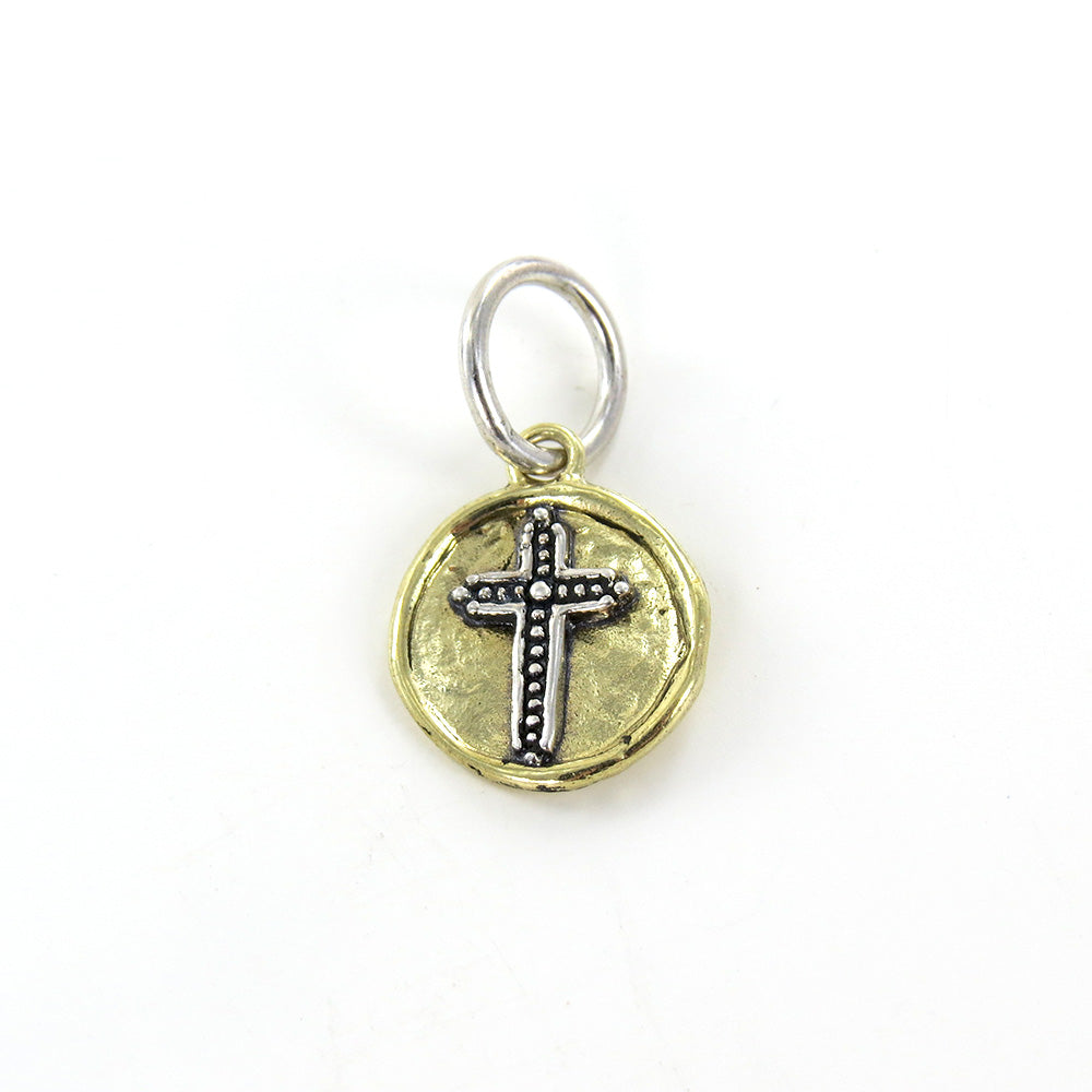 CROSS CAMP CHARM