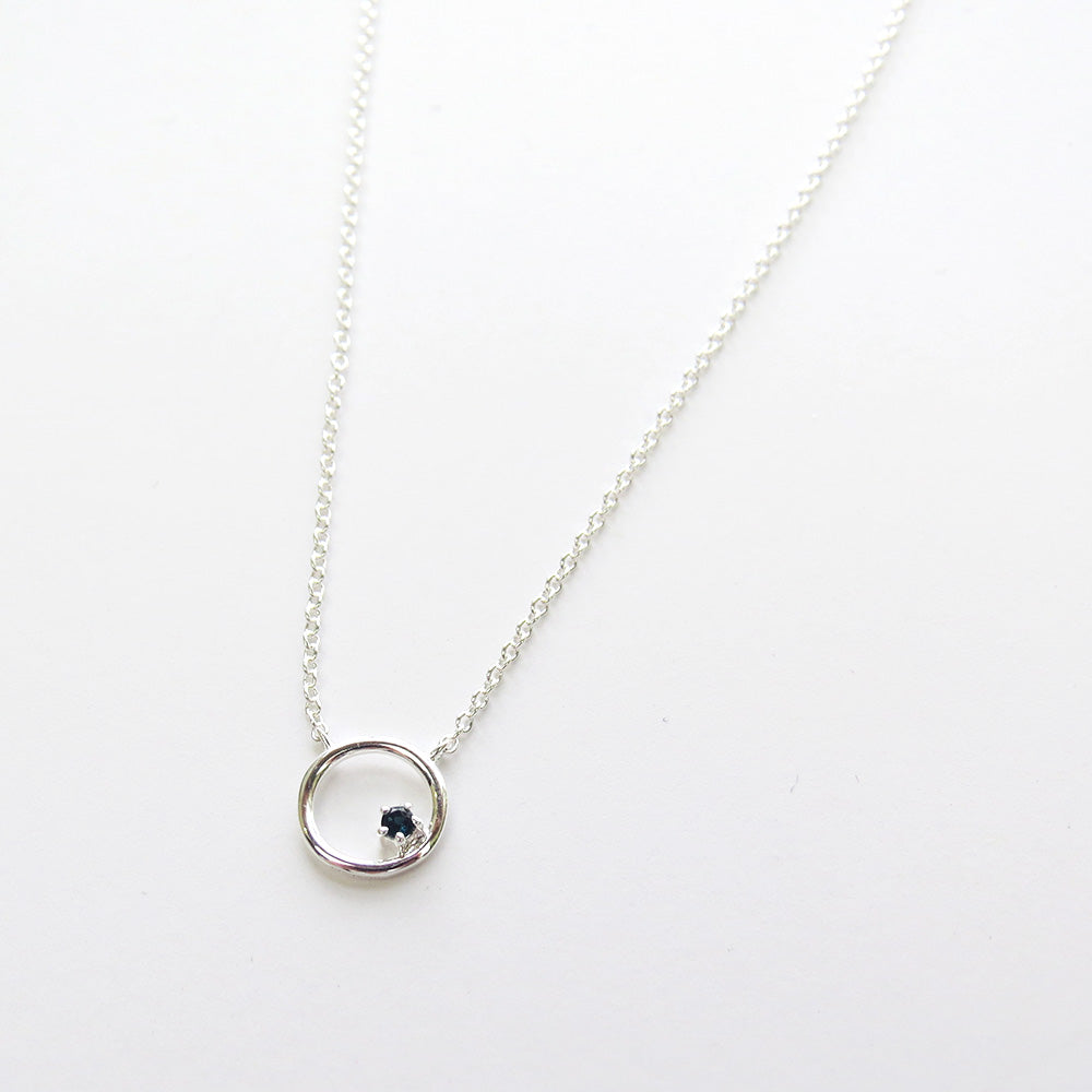 RING AROUND THE TOPAZ NECKLACE
