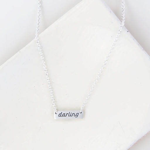 DARLING PLATE NECKLACE