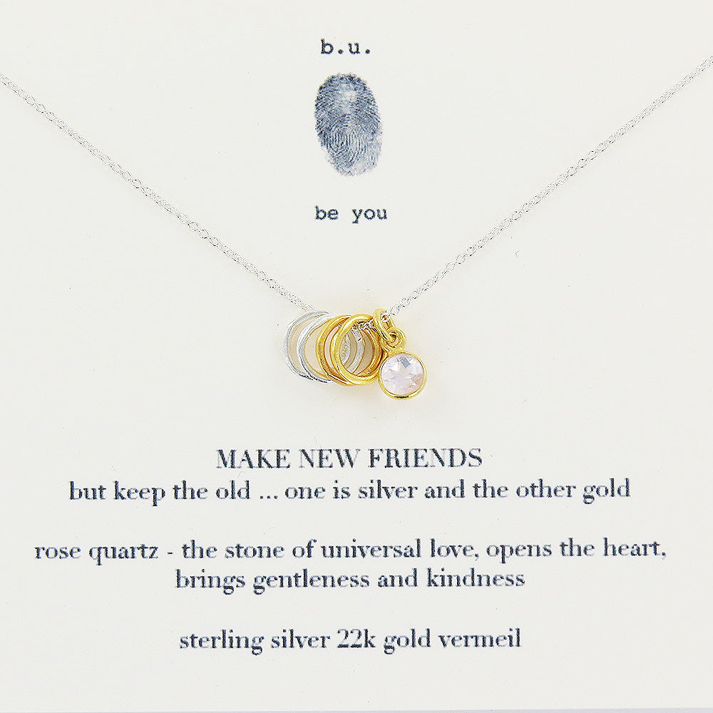 MAKE NEW FRIENDS NECKLACE