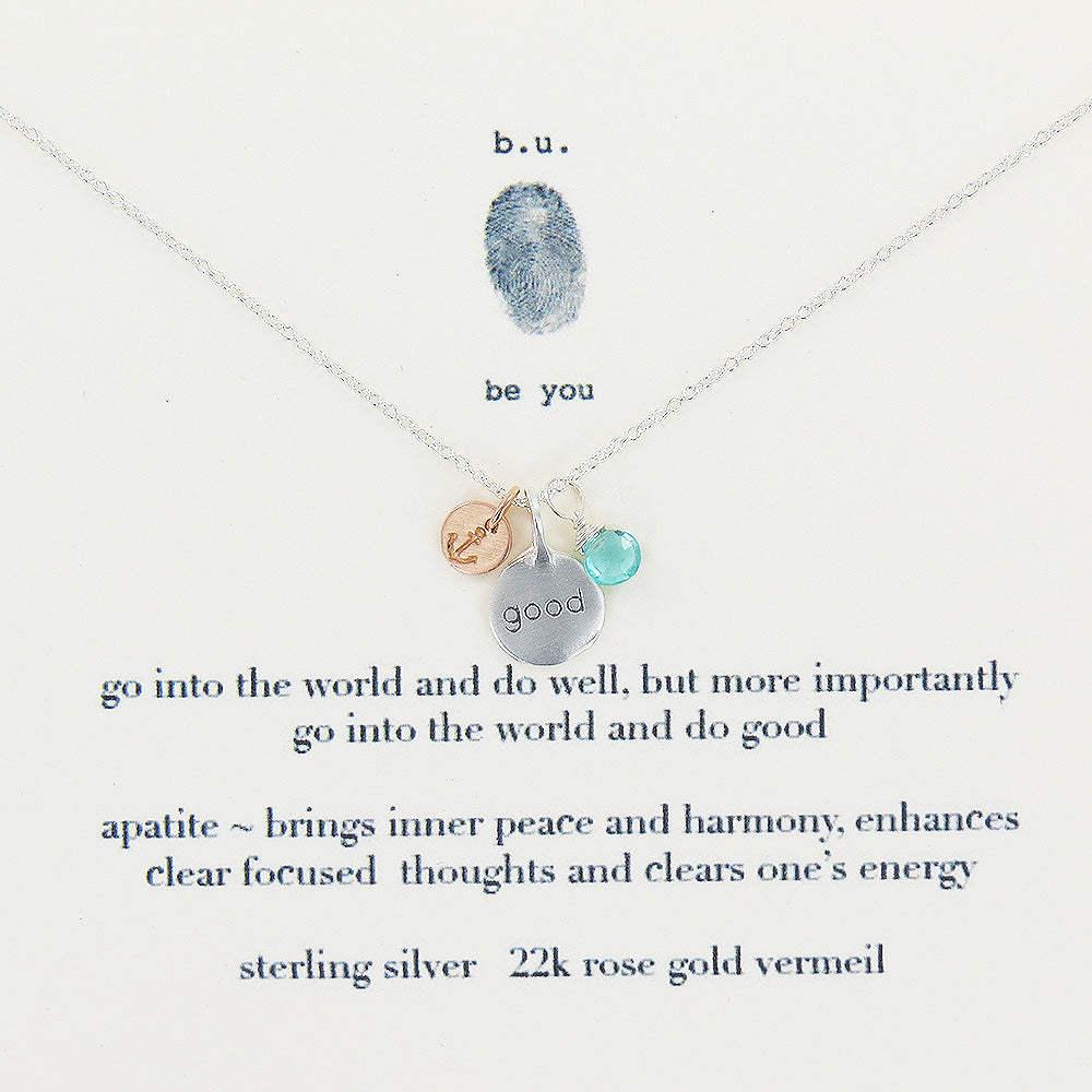 GO INTO THE WORLD NECKLACE