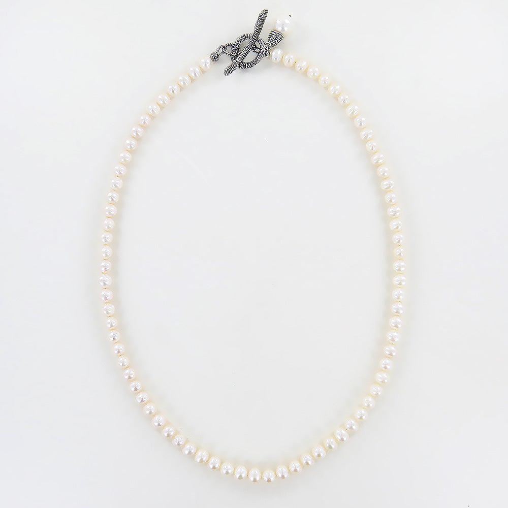 SINGLE STRAND BRANCH PEARL NECKLACE