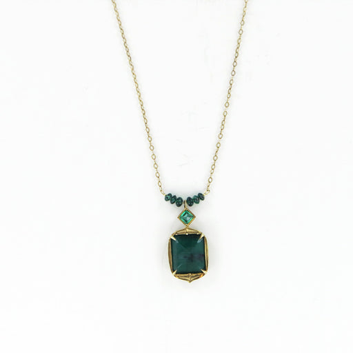 ARLEN EMERALD NECKLACE