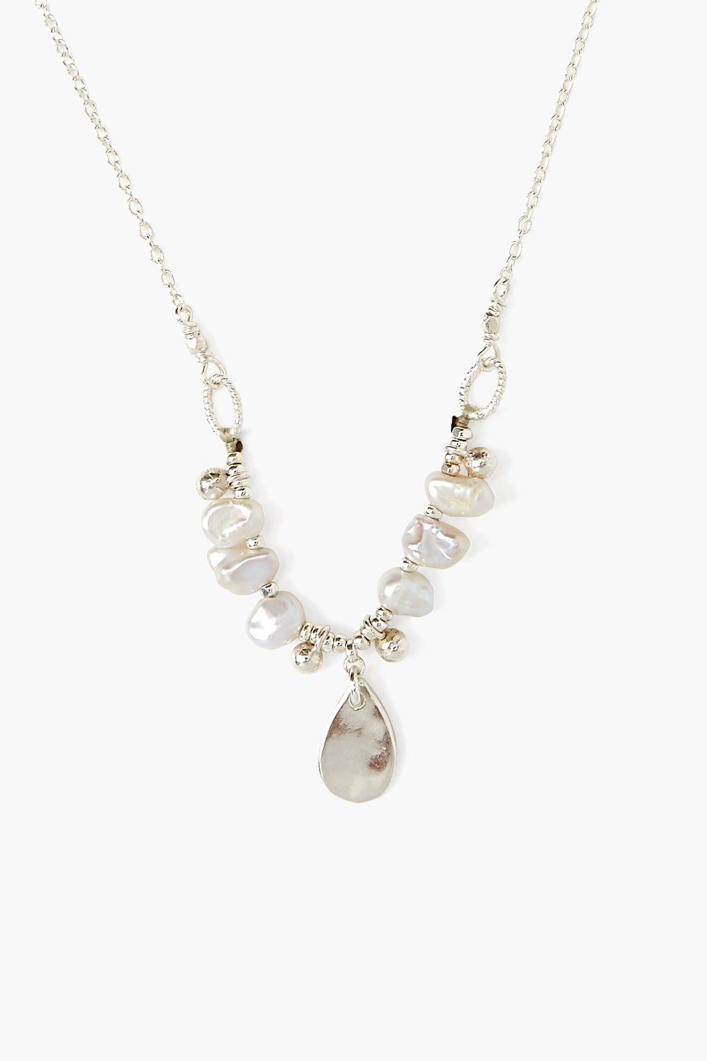Grey Tiara Pearl Necklace