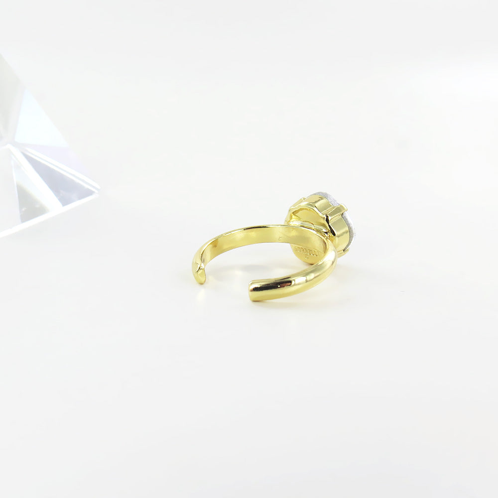 THE CLASSIC CRYSTAL RING