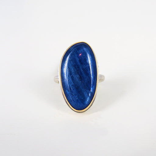 JAMIE JOSEPH SMOOTH KYANITE RING