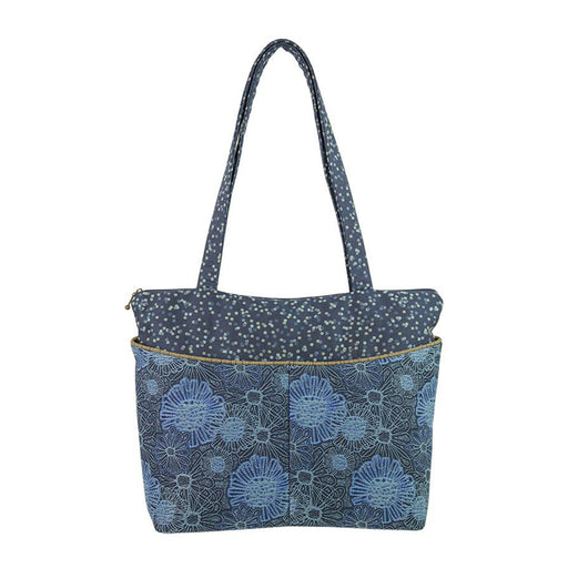 Tote in Blooming Blue