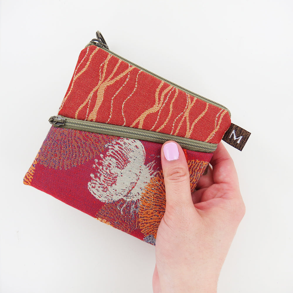 ROO POUCH IN REEF CORAL