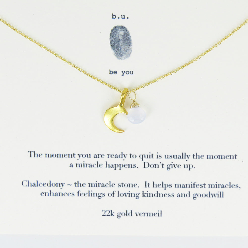 THE MOMENT YOU ARE READY VERMEIL NECKLACE