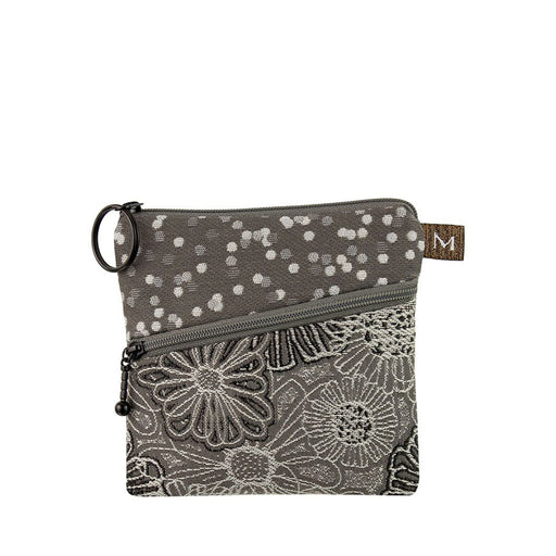 Roo Pouch In Blooming Grey