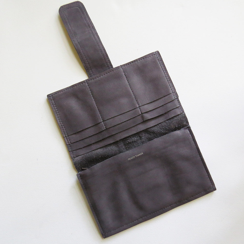 SOFIA WALLET IN CHARCOAL