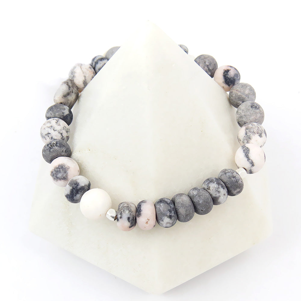 Scout Ocean Agate Stone Stacking Bracelet