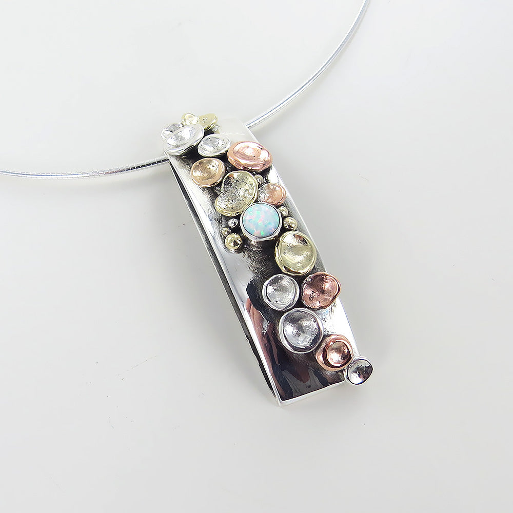 PEBBLES ON THE BEACH PENDANT