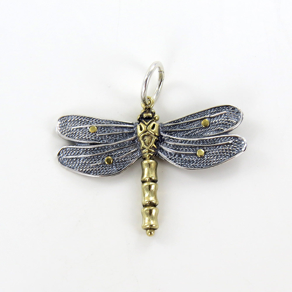 SMALL TRANSFORMATIVE DRAGONFLY CHARM