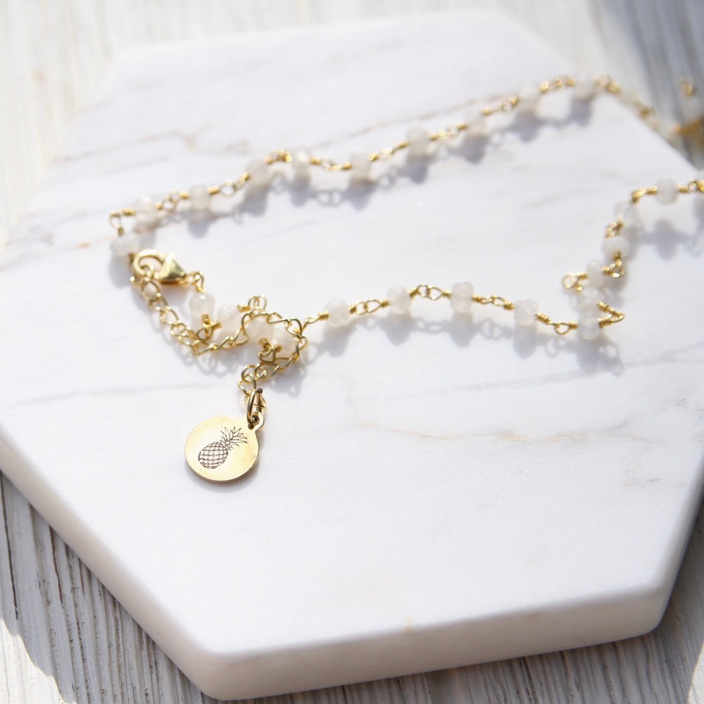 Stay Sweet ~ Wish Choker ~ Moonstone