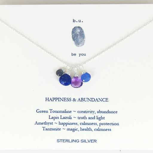 HAPPINESS AND ABUNDANCE NECKALCE