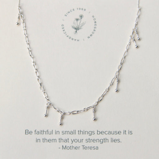 Strength in Small Things Necklace