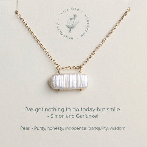 Nothing to Do But Smile Necklace
