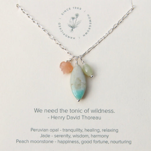 Tonic of Wildness Necklace