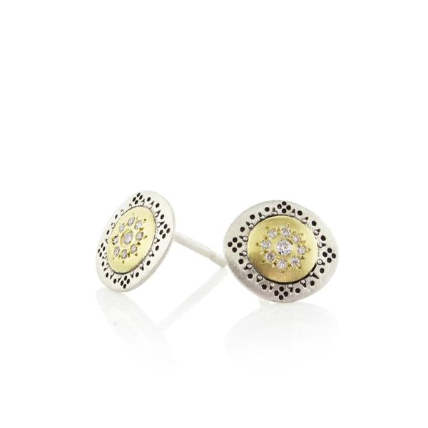 Seeds of Harmony Charm Stud Earrings