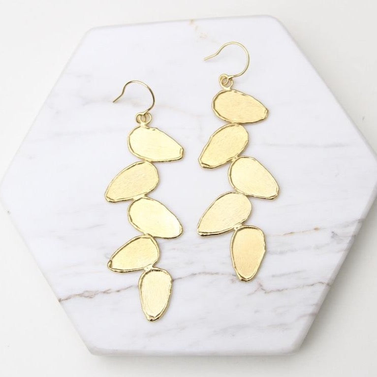 Folium Small Leaves Earring