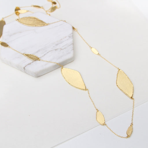 Juliet Multi Leaves Long Necklace