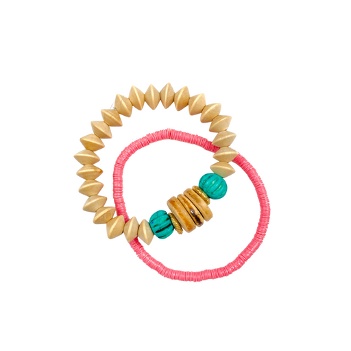 Duo Stack Bracelet Stack ~ Palm