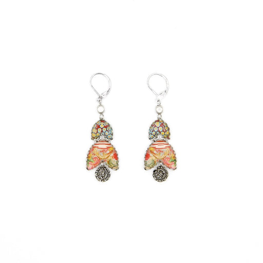 Double Bell Drop Earring - Coral Cave