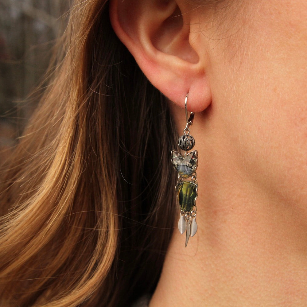 Mother Earth Dangle Earring