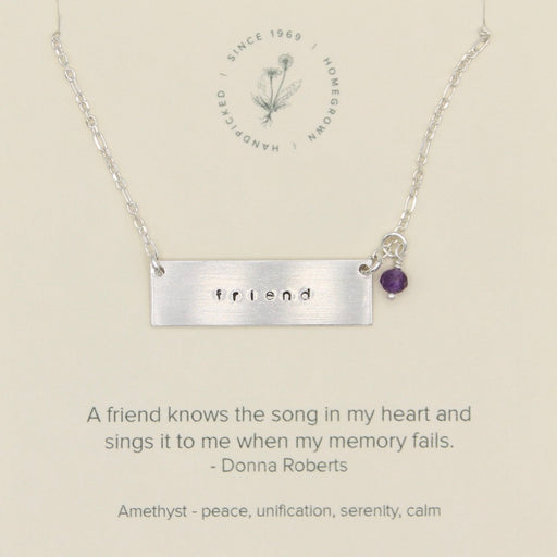 Song in My Heart Friendship Necklace