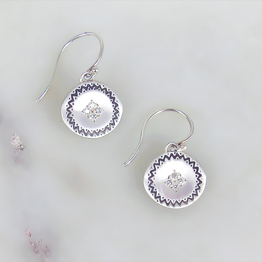 FOUR STAR MEMORIES DIAMOND EARRING