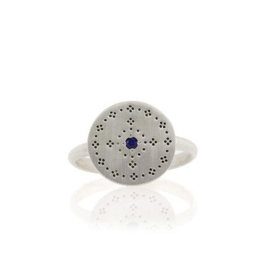 NOSTALGIA RING WITH SAPPHIRE