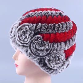 Winter Fur Cap for Women