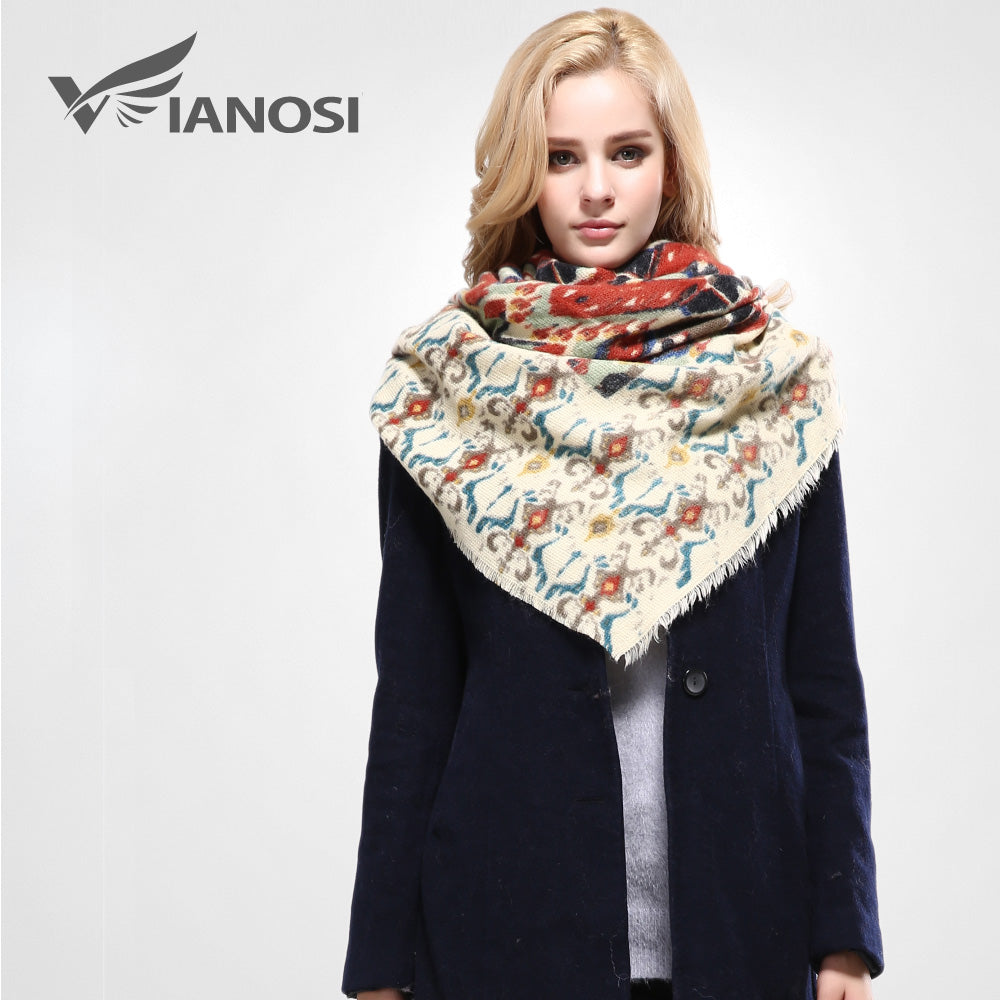 Cotton Floral Scarves for Women