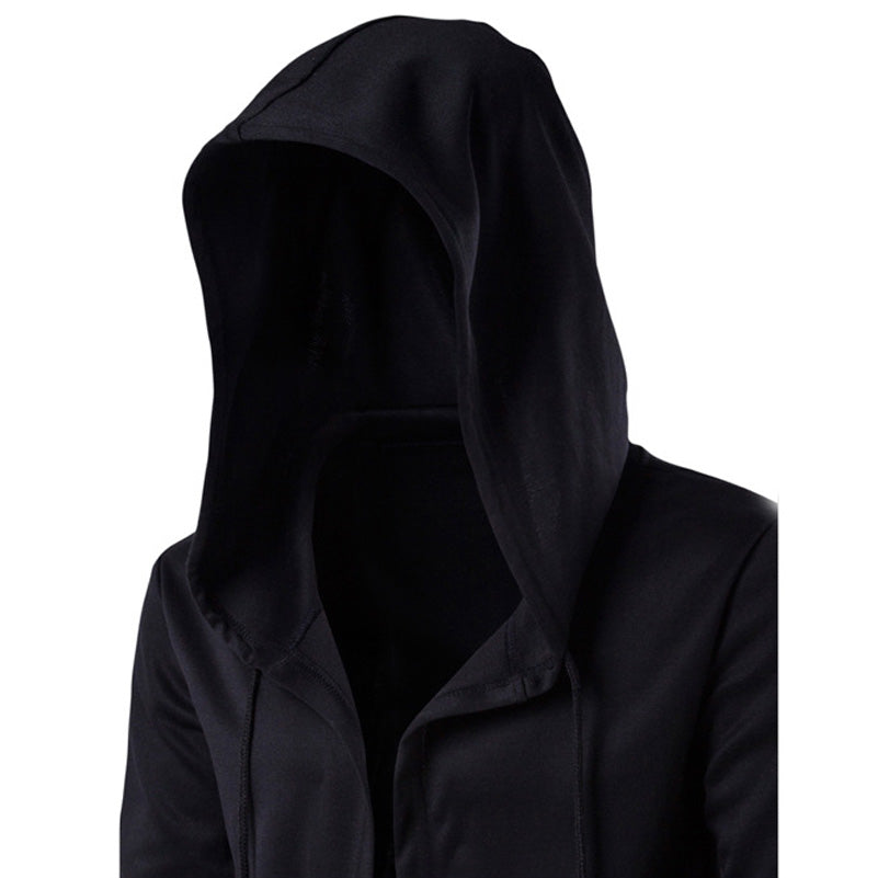 Black Gown/ Zip up Unisex Hoodie