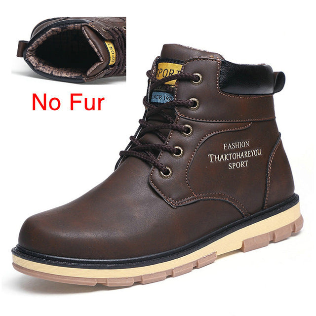 Warm Winter Boots for Men