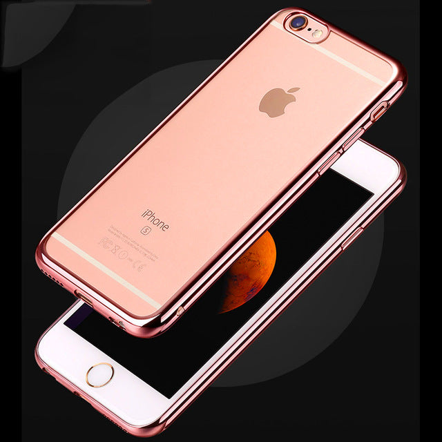 Luxury Soft Silicon iPhone Case for All Models