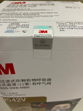 3M 9542V KN95 Particulate Respirators (Headband, Activated Carbon, Exhalation Valve) - FDA Approved for Covid-19 Protection