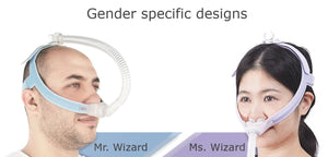 Sales Demo: Ms. Wizard 230 Nasal Pillow Mask System (Designed for Women) by Apex Medical