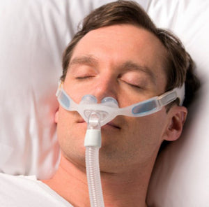 Sales Demo: NuancePro Nasal Gel Pillow Mask Fit-Pack (Gel Frame) by Philips Respironics